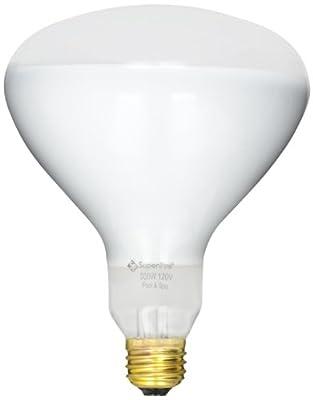 Halco R40FL500/HG Medium Base R40 Bulb, 500-watt, 120-volt