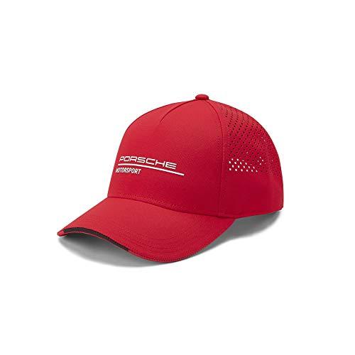 ORIGINAL Porsche Motorsport Cap/Kappe in ROT/RED/Mütze