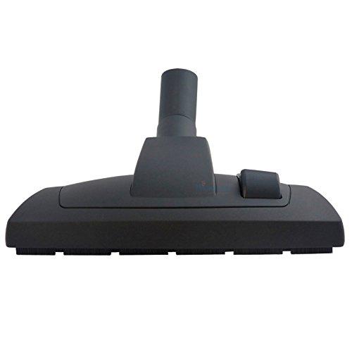 High-Performance-Düse Bodendüse mit Poliereinsatz für AEG Silent Performer Cyclonic Parkett ASPC7120 umschaltbare Kombidüse mit Laufrolle inkl. Fadenheber von Microsafe®