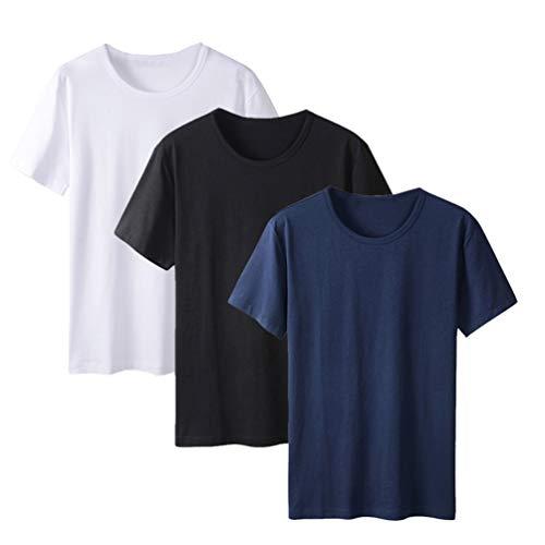 Ancdream 3X kinder-T-shirt, muggenbescherming, korte mouwen, ronde hals, van katoen
