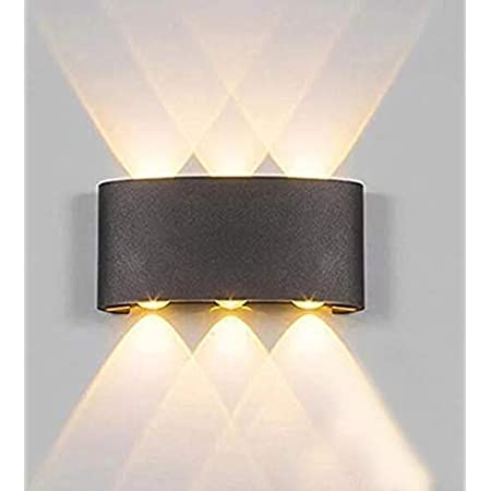 Modern LED Wall Light Waterproof Exterior Up Down Cube Sconce Lamp Fixtures  Y