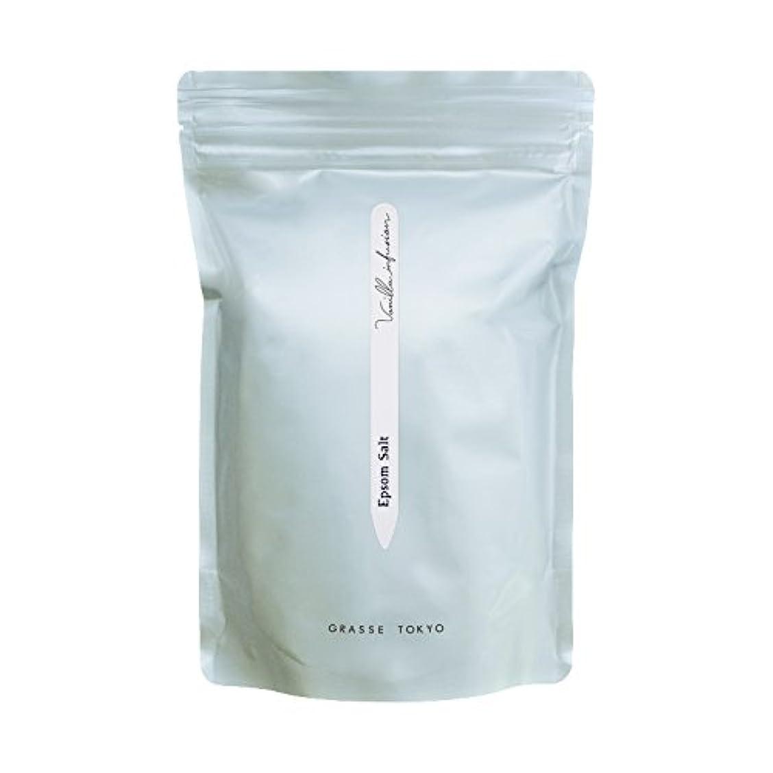 インサート承知しました足グラーストウキョウ エプソムソルト(浴用、5回分ジップ袋) Vanilla infusion 750g