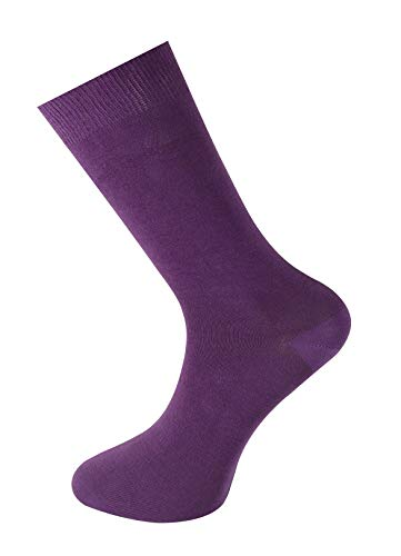Mysocks Plain Sockchen , Lila , Gr. EU 40-45 (UK 7-11)