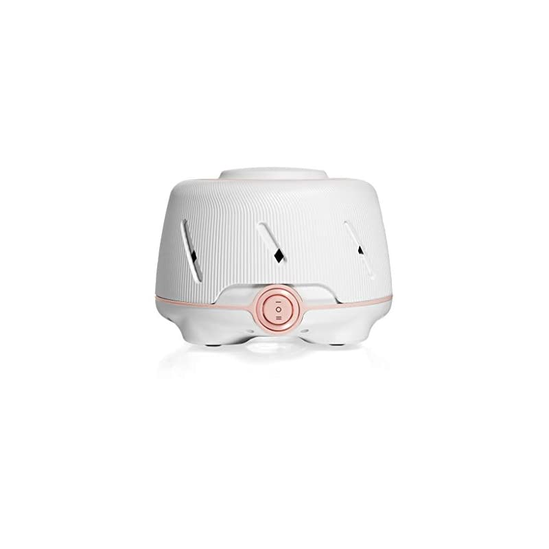 crib bedding and baby bedding yogasleep dohm (white/pink) | the original white noise machine | soothing natural sound from a real fan | noise cancelling | sleep therapy, office privacy, travel | for adults & baby | 101 night trial
