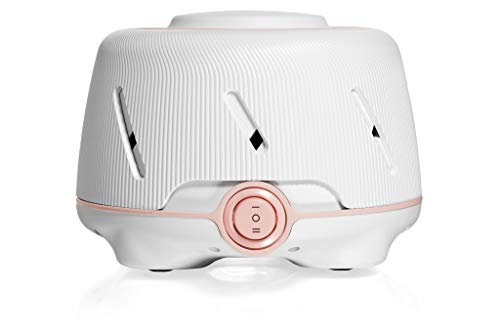 Marpac Dohm (White/Pink) | The Original White Noise Machine | Soothing Natural Sound from a Real Fan | Noise Cancelling | Sleep Therapy, Office Privacy, Travel | For Adults & Baby | 101 Night Trial