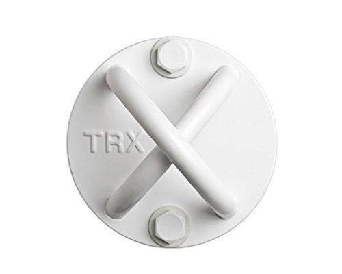 TRX Training: X-Mount. Crea Un Montaggio Durevole E Discreto Praticamente Ovunque Con Questo Punto Di Ancoraggio (Bianco)