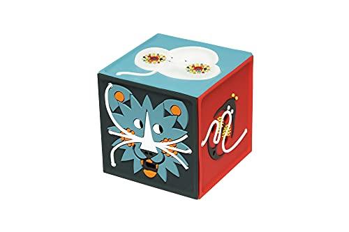 JOYEUSE – Cubo favoloso raccontastorie portatile, con contenuto personalizzabile, Gioco Educativo, per bambini dai 2 ai 7 anni- Versione Italiana