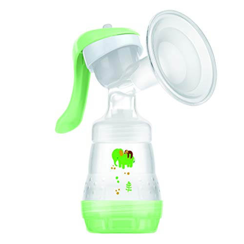 Bomba tira leite Manual, MAM, Verde