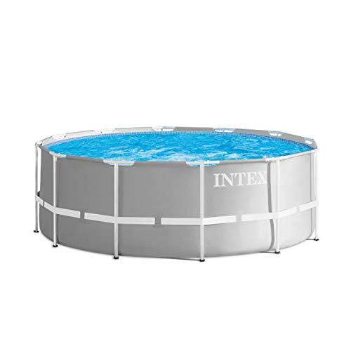 INTEX Kit piscine Prism Frame ronde 3.66 x 1.22 m