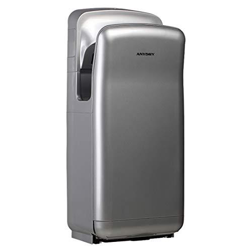 anydry 2005H sèche-Mains,sèche-Mains électrique Commercial,avec Filtre HEPA,Super Puissant,7-10...