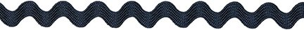 "Decorative Trimmings 00625-C-006F-081 Rick Rack Trim, 5/16"" x 6', Navy"