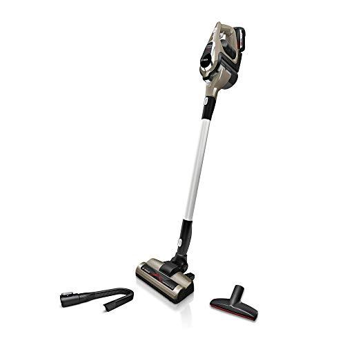 Bosch Akku-Staubsauger Unlimited ProPower Serie 8 BSS1A114, kabelloser Handstaubsauger, beutellos, Hygiene-Filter, hohe Saugkraft, lange Laufzeit, doppelte Akkukapazität, Elektrodüse, beige