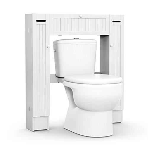 COSTWAY Estante para Inodoro WC Ducha Baño Estantería Alma