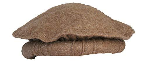Pakol House Handmade Pakols – Chitrali Cap/Afghani/Hat Custom Made in Pakistan (Khaki)