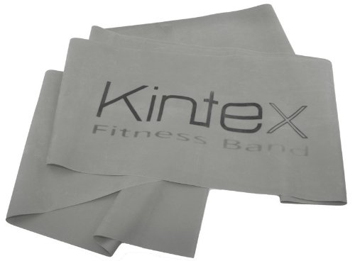 Kintex Fitnessband Silber (super stark), Gymnastik-Band, Wiederstands-Band