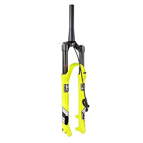 "ZNBH Horquilla de Bicicleta MTB 26/27,5/29 Pulgadas, Control de Hombro 1-1/8""Horquilla Amortiguador de Bicicleta vástago Horquilla de Recorrido 130mm Horquillas"
