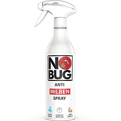 NoBug Anti Milbenspray - 500ml Milbenspray für Matratzen, Polster und andere Textilien - Mittel gegen Krätze und Hausstaubmilben