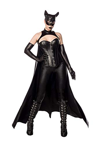 Mask Paradise Disfraz de Bat Girl M630 para mujer Negro S