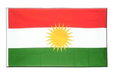 Kurdistan Flagge, kurdische Fahne 60 x 90 cm, MaxFlags®