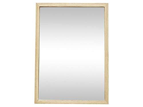 HÜBSCH Spiegel mit Eichenrahmen Höhe 50 cm 889045