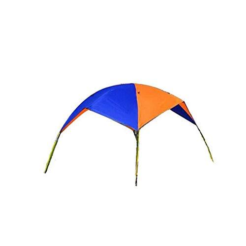MZH QRYY Sombrilla Plegable Impermeable Doble, Protector Solar, Carpa Inflable para Bote, Kit de sombrilla para Bote de Goma Impermeable para Dos Personas