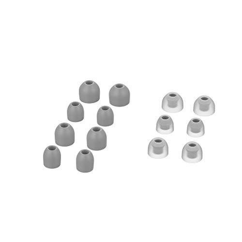 Bascar Ersatzohrgel Knospen Ohrhörer Abdeckungs In-Ear Silikon Earbud Cover Tips Ersatzohrgel Knospen Ersatz Ohrgel Knospe für Sony WF-1000XM3 7 Pairs (Grau)