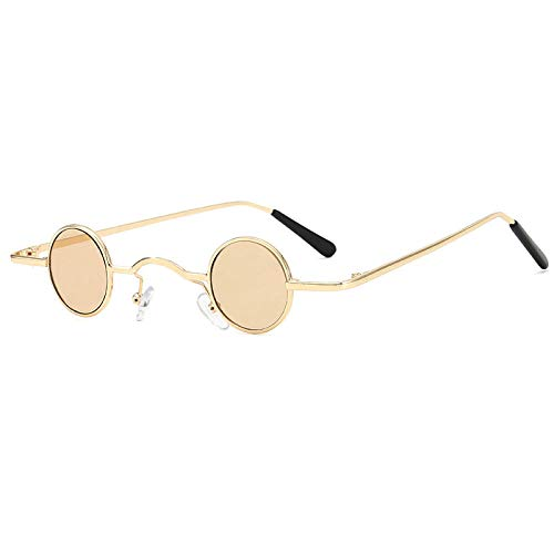 Damen Sonnenbrille Trend Sonnenbrille Sommer Sonnencreme Sonnenbrille Blackout Brille-Champagner Champagner Rahmen