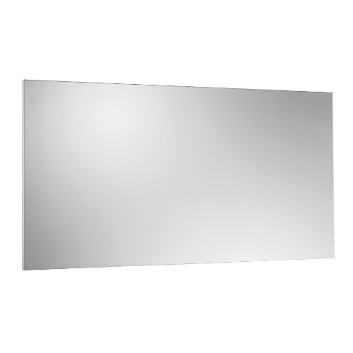 Steelmaster Soho Collection Magnetic Board with Dry-Erase Pad, Pen and Magnets, 14 x 30 Inches, Silver (270163050)