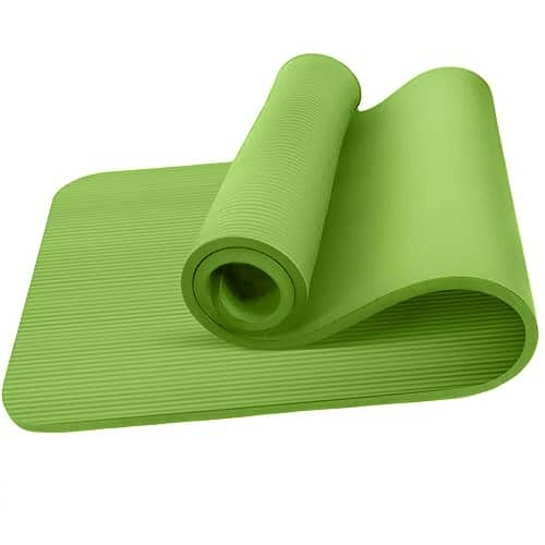 CABLEPELADO Esterilla Yoga Antideslizante entrenamiento 60x190 cm (Verde)