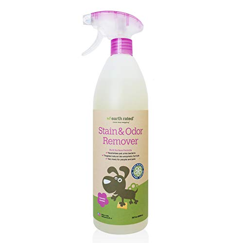 Earth Rated Pet Stain and Odor Remover Powerful Multi-Surface Natural Bio-Enzymatic Formula