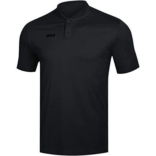 JAKO Herren Prestige Polo, schwarz, XL