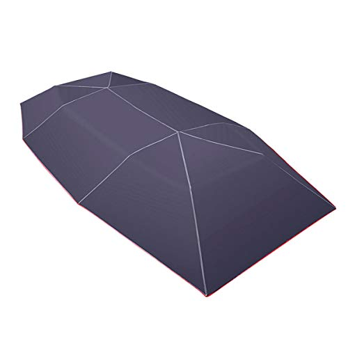 Nrpfell Car Umbrella Sun Shade Cover Tent Cloth 4X2.1M Universal UV Protect Without Bracket Blue