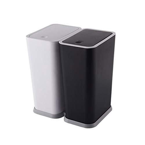 cubo en mueble reciclaje 4 colores de la marca liushop