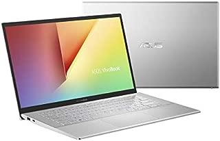 Asus VivoBook 14 A420UA-EK255T Laptop (Transparent Silver) - Intel i3-7020U 2.3 GHz, 4 GB RAM, 128 GB SSD, Integrated Intel UHD Graphics 620, 14 inches LED, Windows 10, Eng-Arb-KB