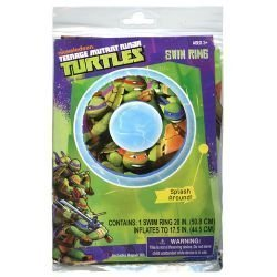 Teenage Mutant Ninja Turtles Swim Ring 20 TMNT Fun Pool Toy