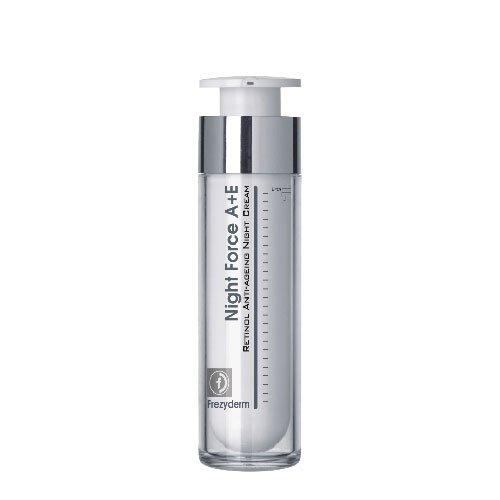 Frezyderm Night Force A + E Cream, Crema de noche enriquecida con retinol (Vitamina A), 50ml