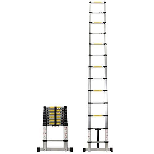 'Échelle télescopique en Aluminium - 3.80 mètres'