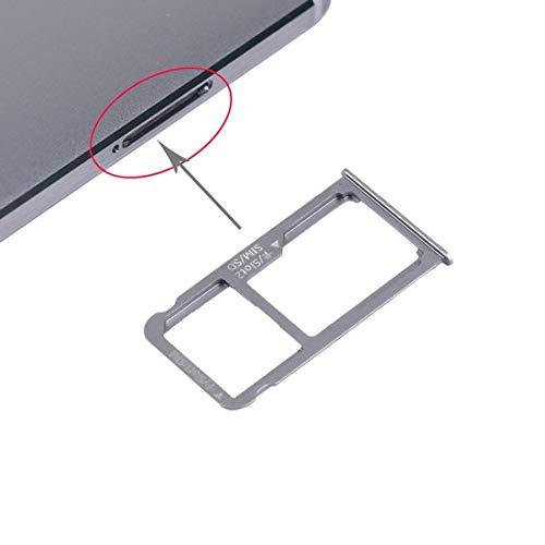 JIANGSHOU Bandeja de Tarjeta SIM Huawei Mate 8 Nano SIM Micro SD/Nano (Color : Grey)