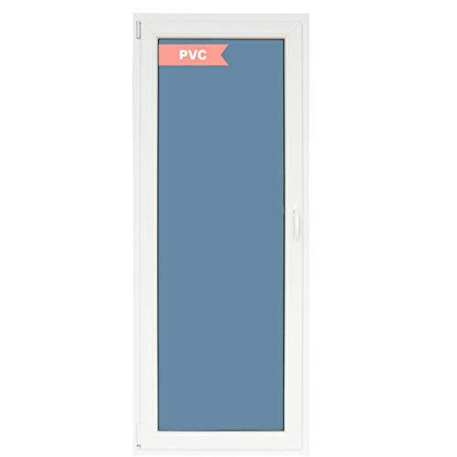 Ventanastock Puerta Balconera PVC Practicable Oscilobatiente 1 hoja apertura Izquierda 800 ancho x 2000 alto