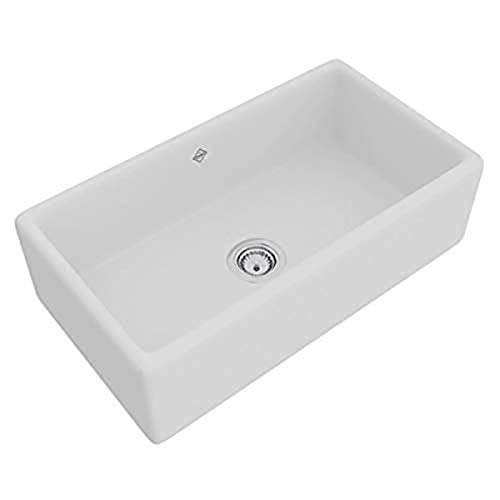 ROHL RC3318WH FIRECLAY KITCHEN SINKS, White