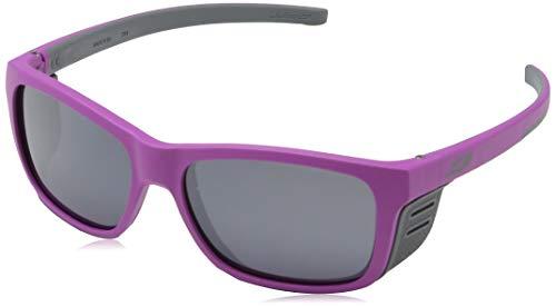 Julbo Cover Junior Sunglasses, Pink/Gray Frame - Spectron Smoke Lens w/Silver Mirror