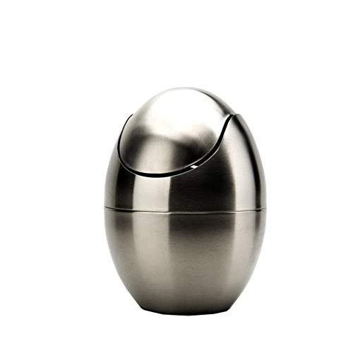 Poubelle- Matériaux normaux de poubelle d'acier inoxydable, corbeille 4l de protection de l'environnement de simplicité de simplicité