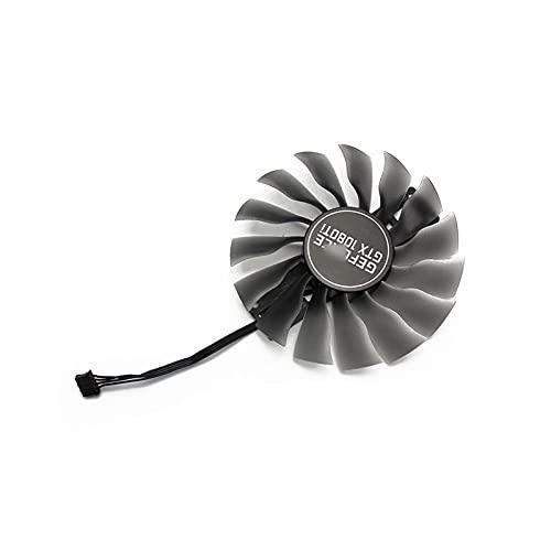 Jinyouqin 95mm (100mm) Fan GTX1080 GTX1080TI GPU-Kartenkühler für Palit GTX 1080 1080TI Gamerock-Karten als Ersatz (Blade Color : 1080Ti)