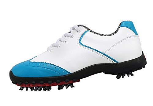 PGM Imperméables Chaussures de Golf pour Femmes avec Crampons