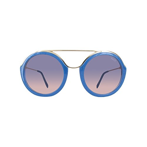 Emilio Pucci Ep0013 Occhiali da Sole, Blu (Blau), 52 Donna