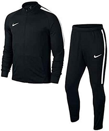 Nike Jungen Squad 17 Track Suit Youth Trainingsanzug, schwarz (Black/White), XS