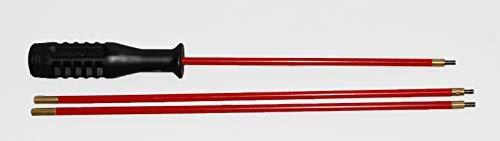 Flachberg Waffenreinigung Putzstock für Langwaffen/Kurzwaffen Luftgewehr Luftpistole 4.5 mm