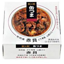K&K 缶つま 赤貝どて煮風 山椒入り  105g × 3缶セット