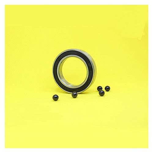 WDGNY 6908 rodamientos híbridos de cerámica 40 x 62 x 12 mm ABEC-1 soportes inferiores de bicicleta repuestos 6908RS Si3N4 1 rodamiento de bolas de rodamiento de rueda
