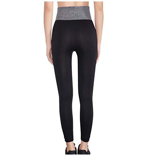 YpingLonk Mallas de Deporte de Mujer, Leggins Pantalon Deporte Yoga, Leggings Mujer Fitness Suaves Elásticos Cintura Alta